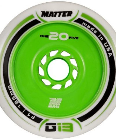 Matter wheels 125mm 6 stuks